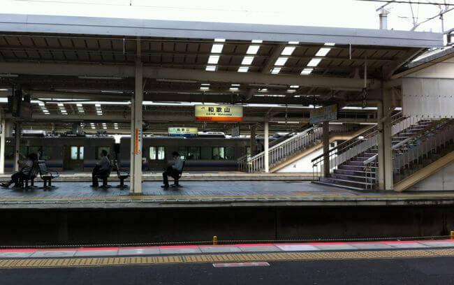 和歌山駅構内